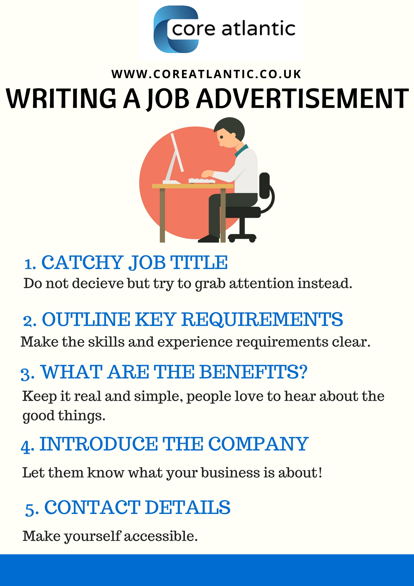 Job in writing